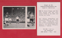 West Germany v Turkey 1954 World Cup Schafer Morlock Torgay Mustafa 74